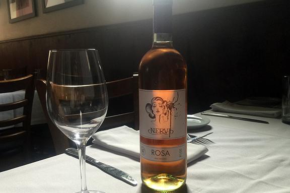 nervi rosato wine
